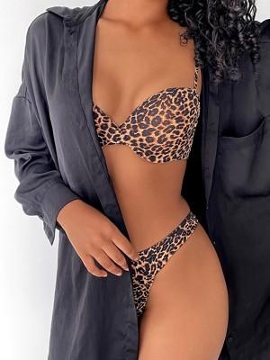 Secretly leopard push up melltartó