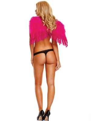 Pink színű angyalszárny - kicsi