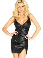 LA86617-Fekete színű szexi ruha