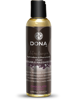3100004694-Dona Kissable Massage Oil - Chocolate