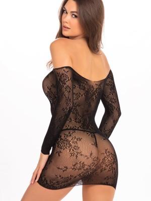 Szexi fekete ruha