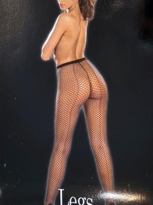 Daring-fekete necc nadrág hátulján csíkkal