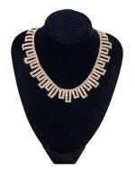 0005-Arany strasszos nyaklánc
