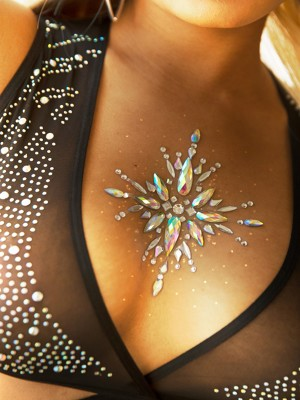 Soleil body jewels sticker