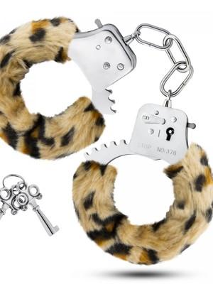 Leopard plüss bilincs