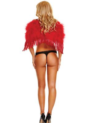 Vörös színű angyalszárny - kicsi