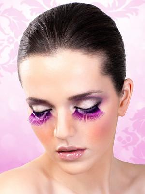 Magic colors műszempilla ragasztóval Purple No.518