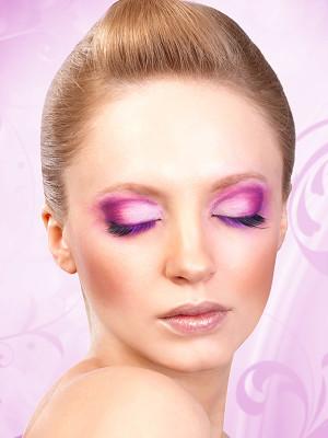 Magic colors műszempilla ragasztóval Black/Purple No.539