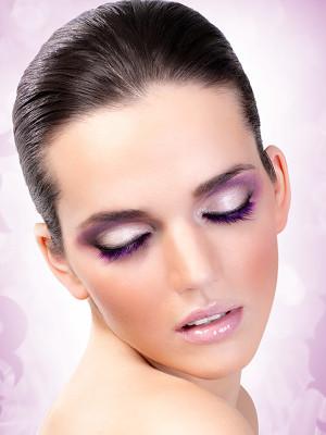 Magic colors műszempilla ragasztóval Purple No.545