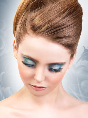 Magic colors műszempilla ragasztóval Black/Blue No.550