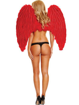 Vörös színű angyalszárny - nagy
