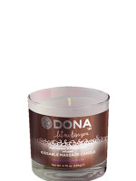 Dona csókolható feromonos masszázsgyertya csokoládé ízesítéssel 125 ml